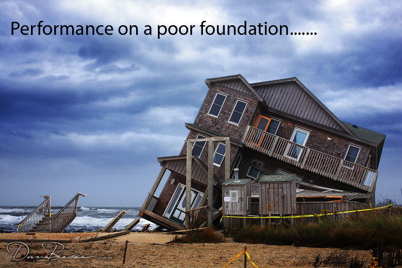 Performance On a Poor Foundation