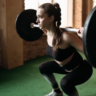 back pain squat