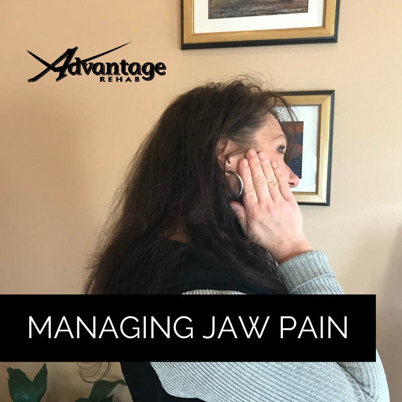 Managing jaw pain